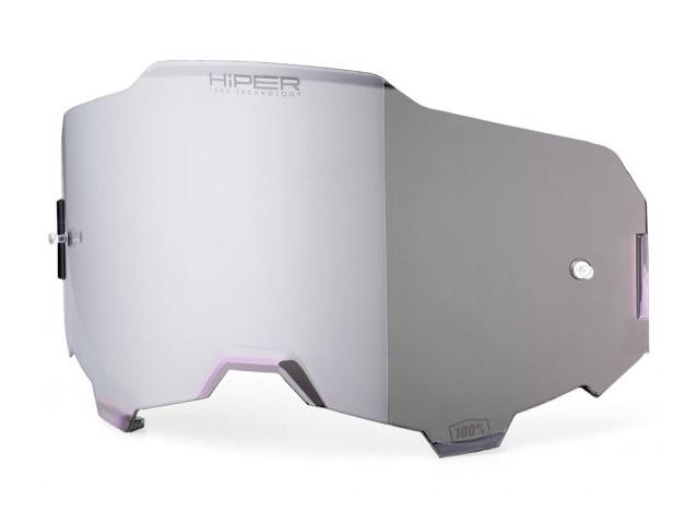 100% Armega HiPER Enkel Siktskiva Silverspegel