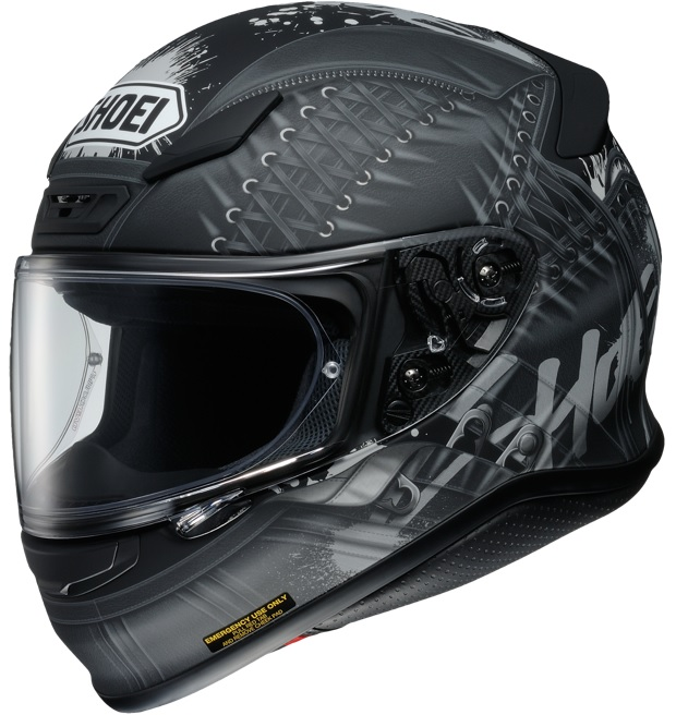 Shoei NXR Seduction TC-5 Hjälm Svart/Grå