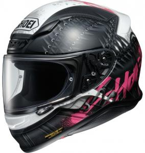 Shoei NXR Seduction TC-7 Hjälm Svart/Vit/Rosa