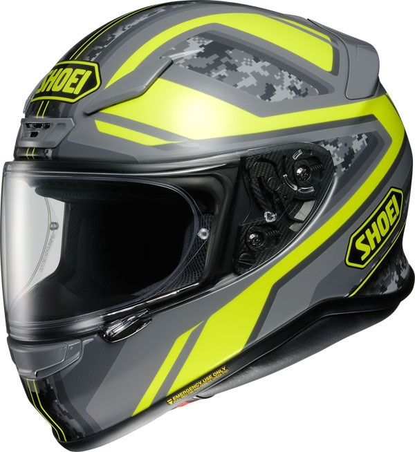 Shoei NXR Parameter TC-3 Hjälm Grå/Gul