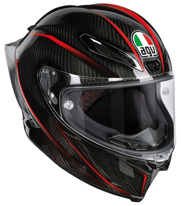AGV Pista GP R Gran Premio Hjälm Blank Carbon