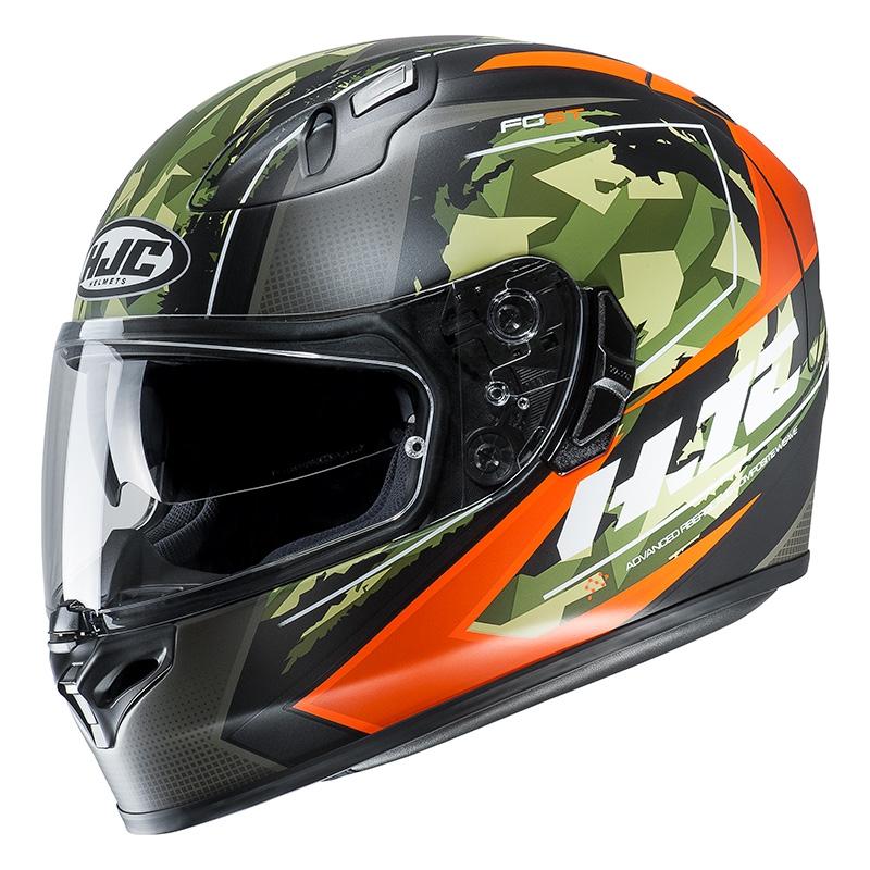 HJC FG-ST Kume MC7SF Hjälm Army/Orange