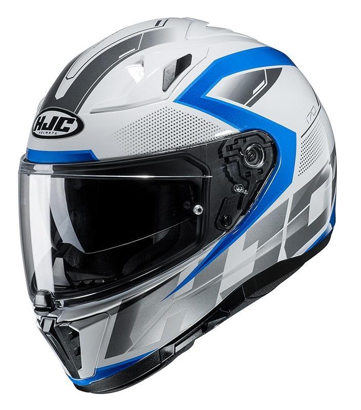 HJC i70 Astro MC2 Hjälm Vit/Blå