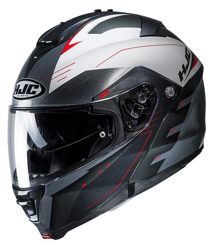 HJC IS-MAX II Cormi MC1 Hjälm Svart/Röd