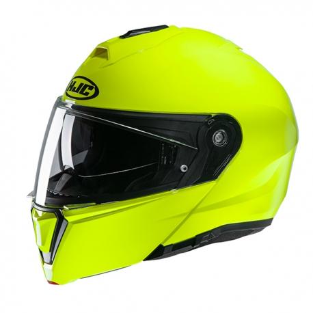 HJC i90 Fluorescent Hjälm Grön