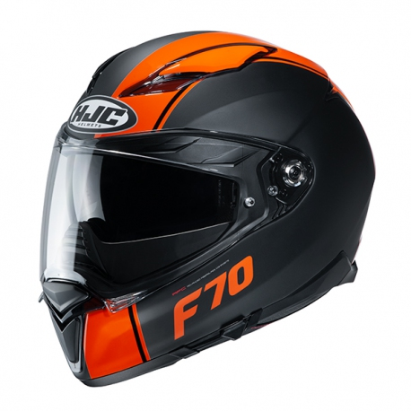 HJC F70 Mago MC7SF Hjälm Svart/Orange