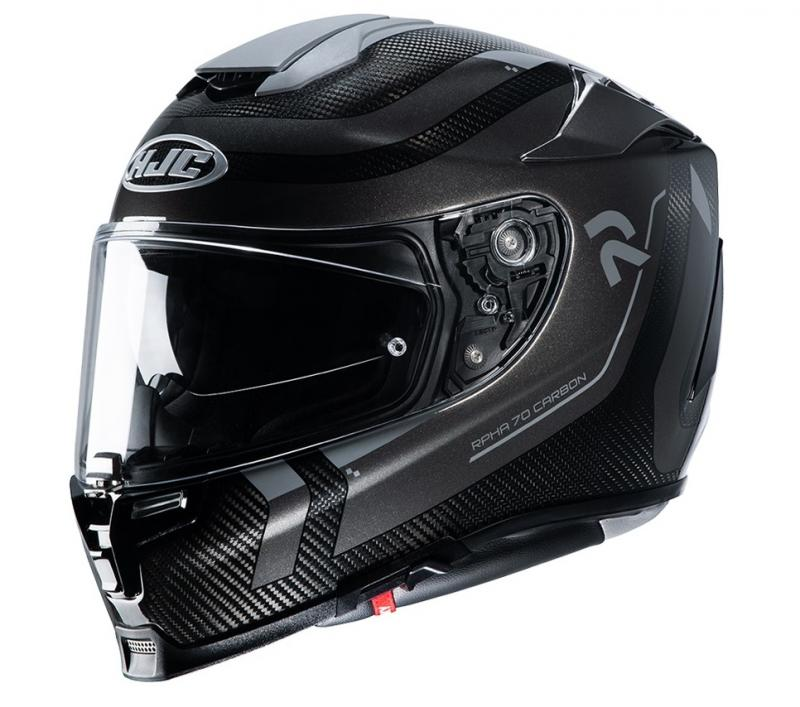 HJC RPHA 70 Carbon Reple MC5 Hjälm Svart/Grå