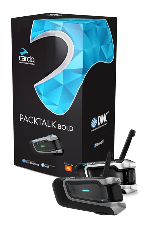 Cardo Packtalk Bold JBL Intercom Duo (Dubbelkit)