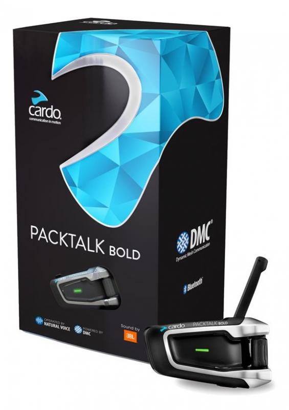 Cardo Packtalk Bold JBL Intercom Singel