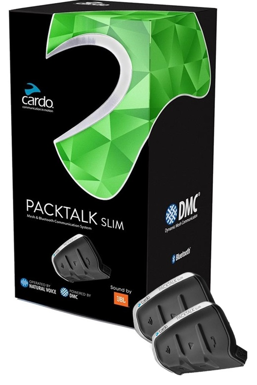 Cardo Packtalk Slim JBL Intercom Duo (Dubbelkit)