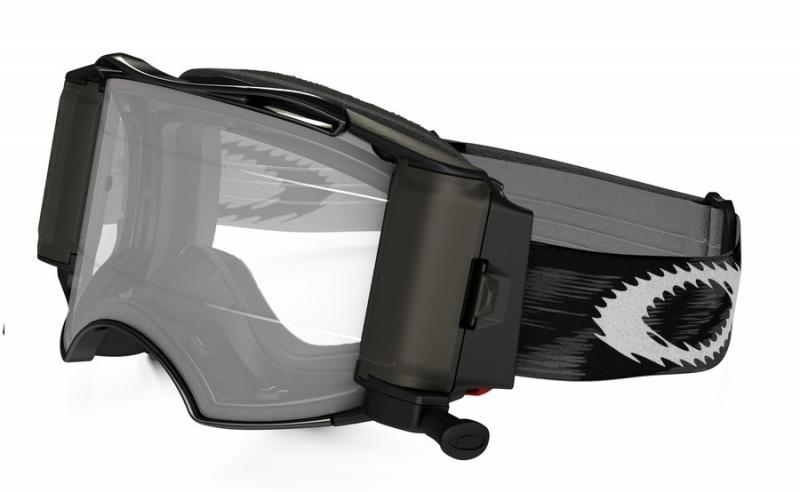 Oakley Airbrake® MX Roll-Off Crossglasögon Jet Svart Speed RR, Klar Siktskiva