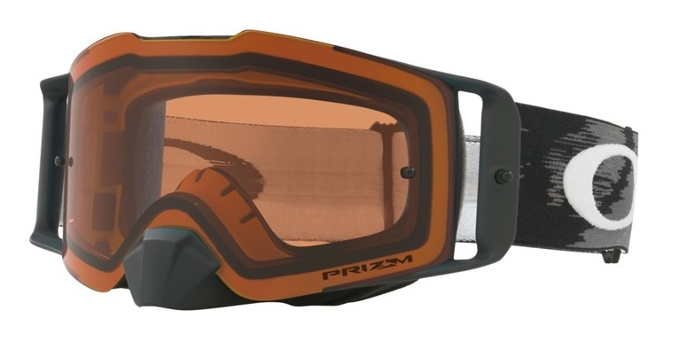 Oakley Front Line™ MX Crossglasögon Mattsvart Speed, Prizm MX Brons Siktskiva