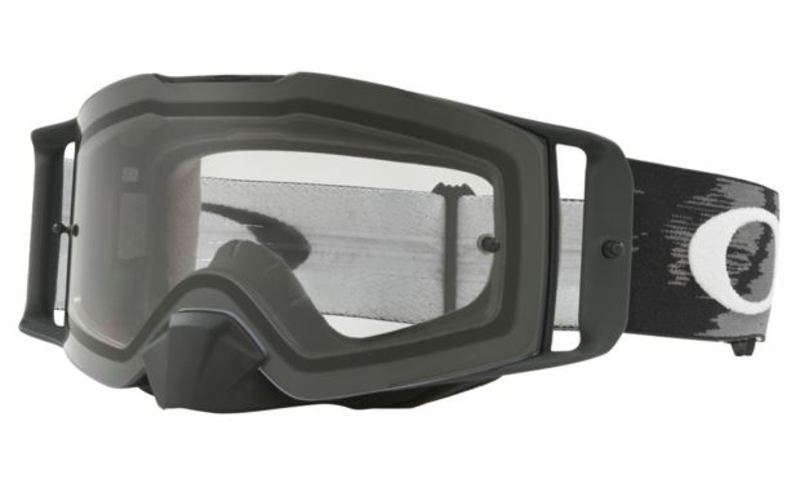 Oakley Front Line™ MX Crossglasögon Mattsvart Speed, Klar Siktskiva