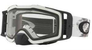 Oakley Front Line™ MX Crossglasögon Mattvit Speed, Klar Siktskiva