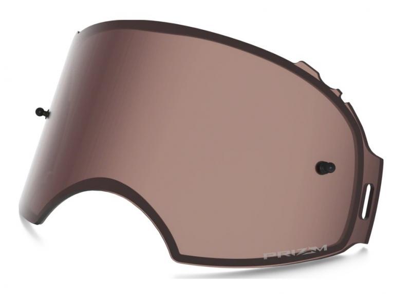 Oakley Airbrake® MX Enkel Siktskiva Prizm MX Mörkspegel