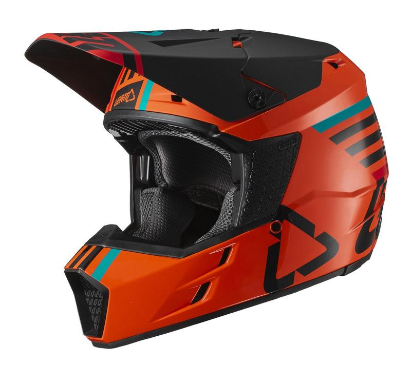 Leatt GPX 3.5 V19.1 Crosshjälm Orange