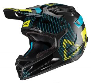 Leatt GPX 4.5 V19.2 Crosshjälm Svart/Lime