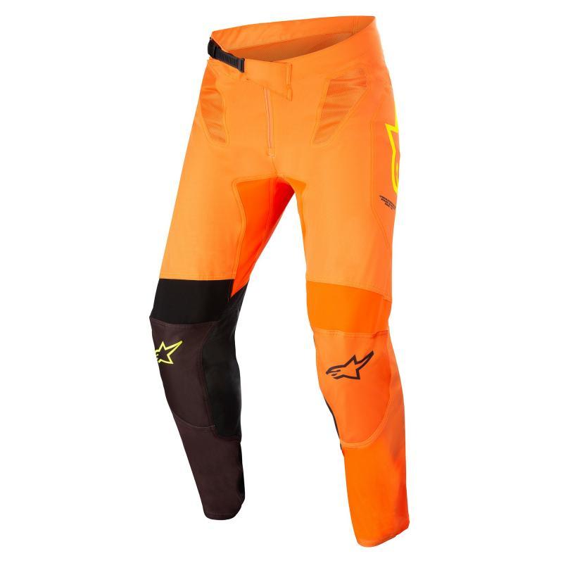 Alpinestars Supertech Blaze Crossbyxor Orange/Svart/Fluo-Gul