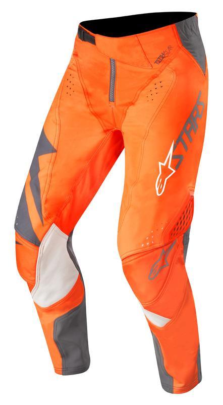 Alpinestars Techstar Graphite Crossbyxor Antrasit/Fluo Orange