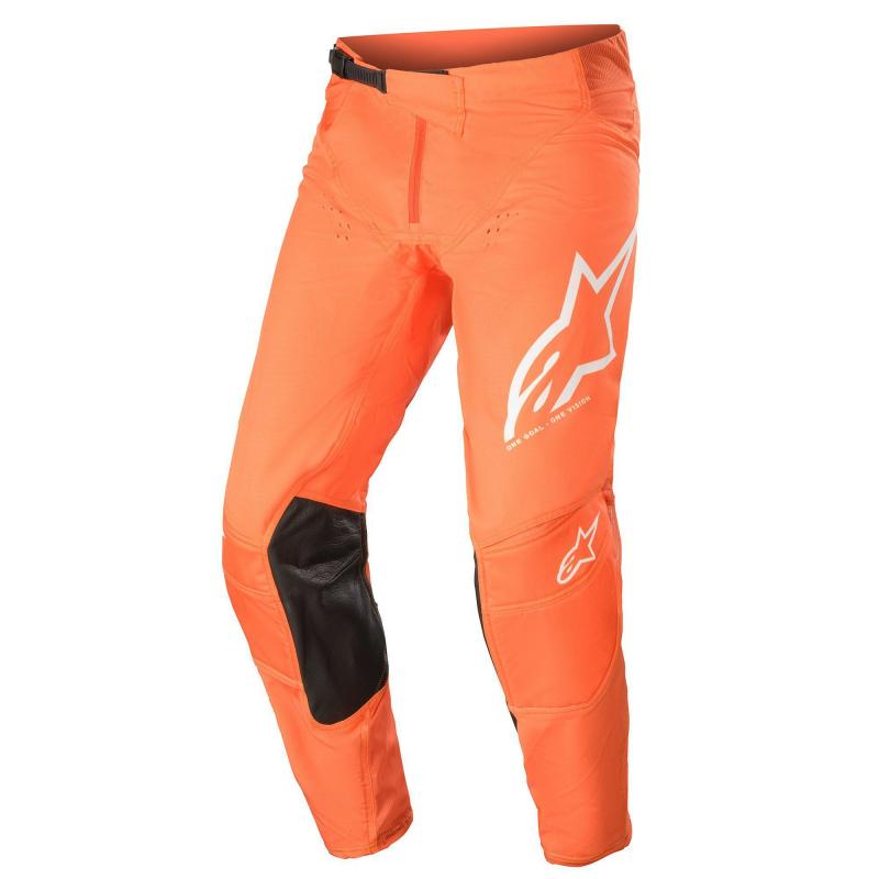 Alpinestars Techstar Factory Crossbyxor Grå/Orange/Vit