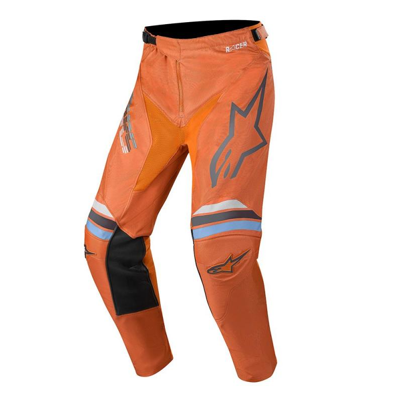 Alpinestars Racer Braap Crossbyxor Mörkgrå/Fluo-Orange