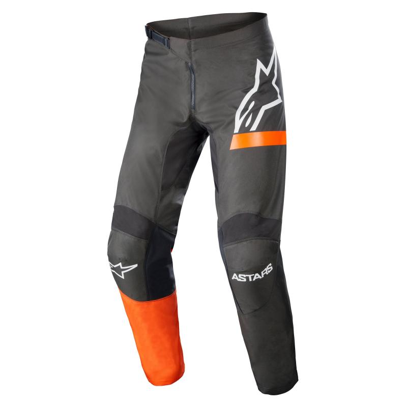 Alpinestars Fluid Chaser Crossbyxor Antracite/Fluo-Coral