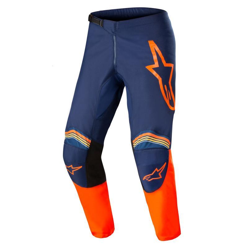 Alpinestars Fluid Speed Crossbyxor Mörkblå/Orange