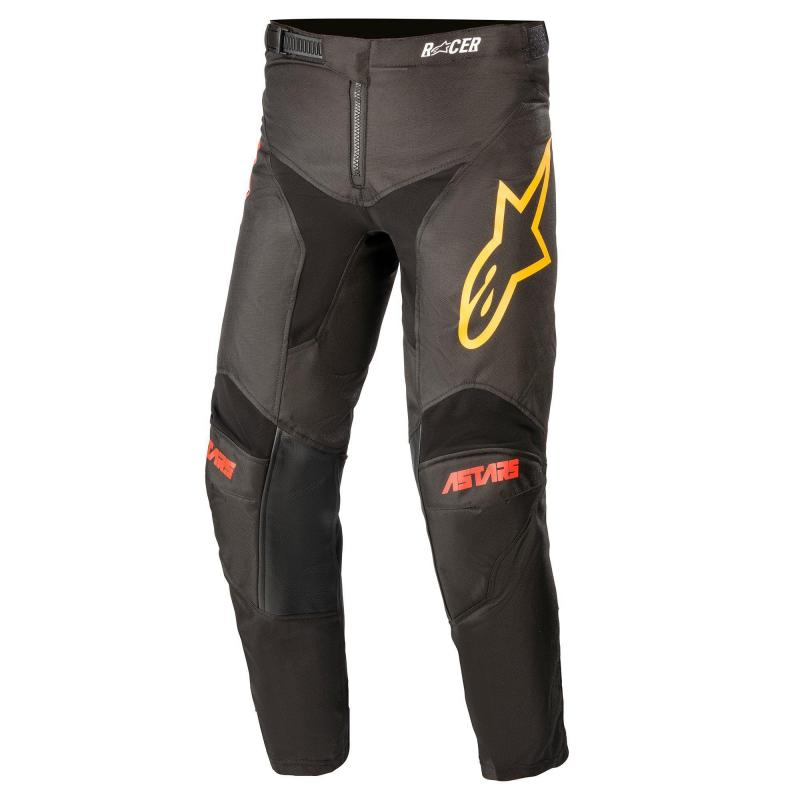 Alpinestars Racer Venom Barn Crossbyxor Svart/Röd/Orange