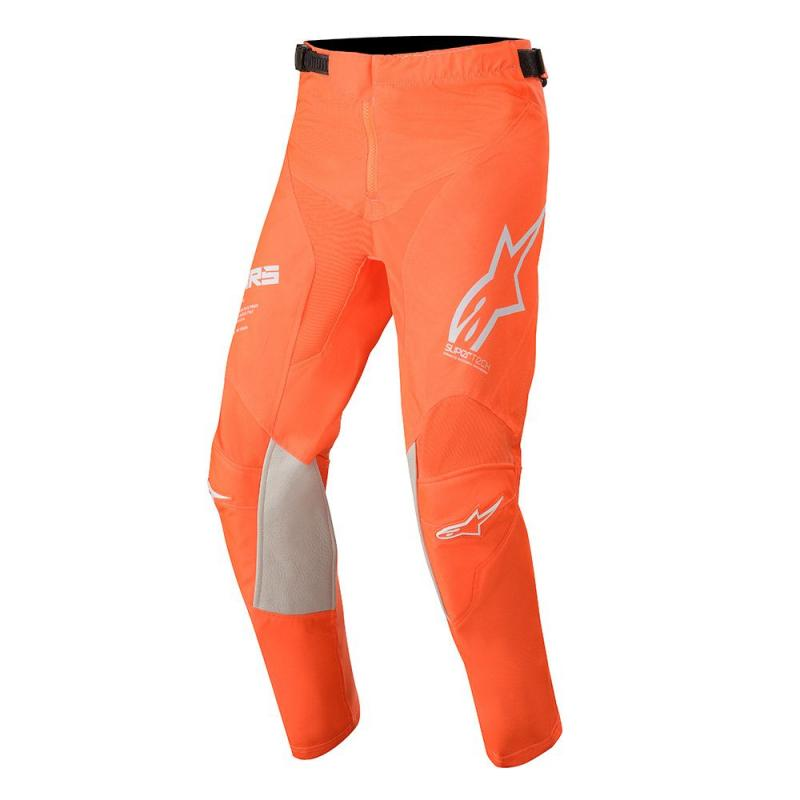 Alpinestars Racer Tech Barn Crossbyxor Fluo-Orange/Vit/Blå