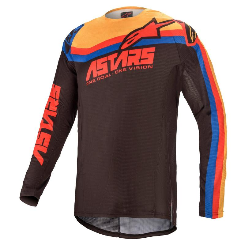 Alpinestars Techstar Venom Crosströja Svart/Röd/Orange