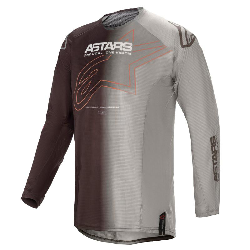 Alpinestars Techstar Phantom Crosströja Grå/Orange