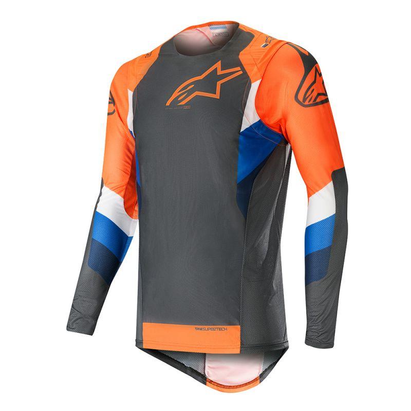 Alpinestars Supertech Crosströja Orange/Antrasit