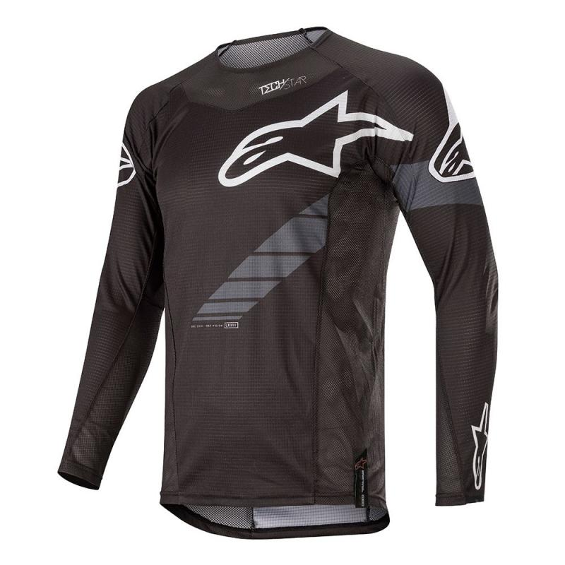 Alpinestars Techstar Graphite Crosströja Svart/Antracit