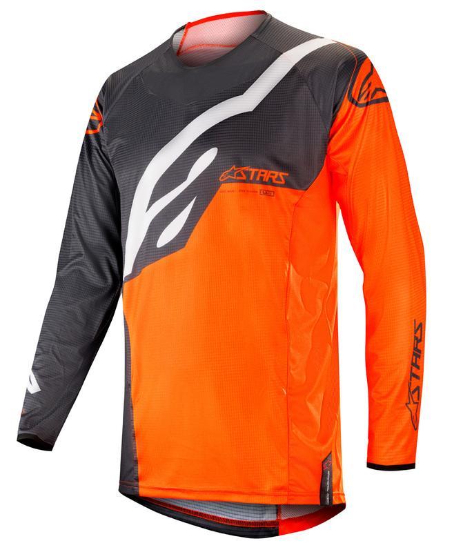 Alpinestars Techstar Crosströja Antrasit/Fluo Orange