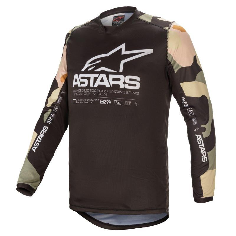 Alpinestars Racer Tactical Crosströja Desert Camo/Vit