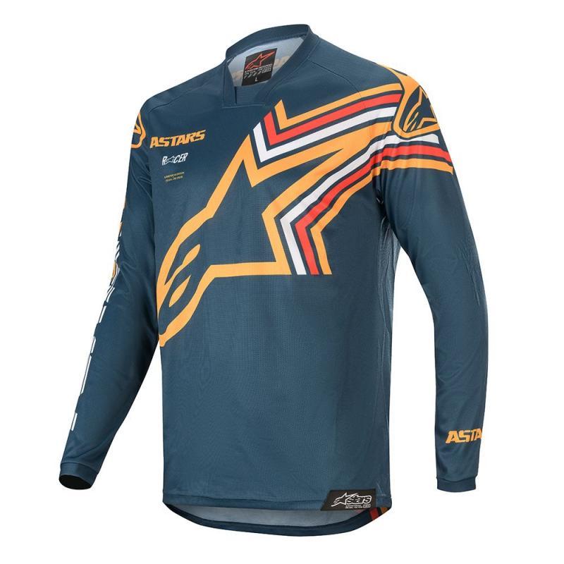 Alpinestars Racer Braap Crosströja Blå/Orange