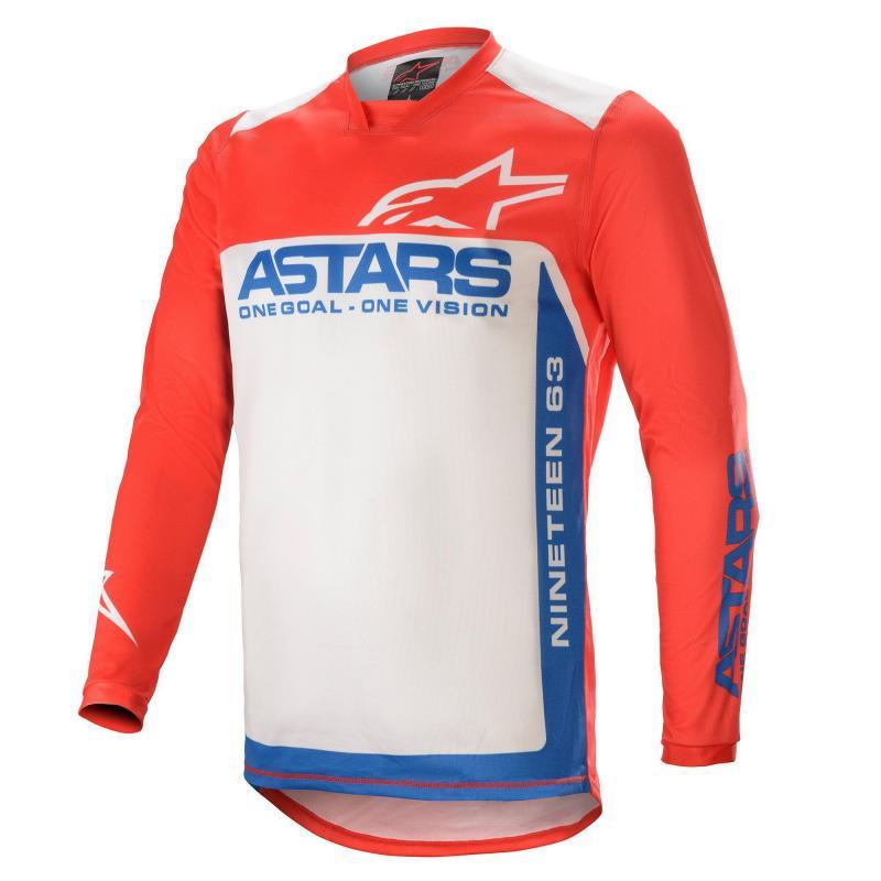 Alpinestars Racer Supermatic Crosströja Röd/Blå/Vit