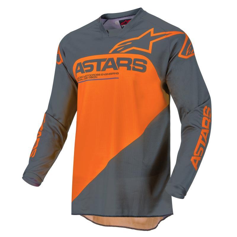 Alpinestars Racer Supermatic Crosströja Antracite/Orange