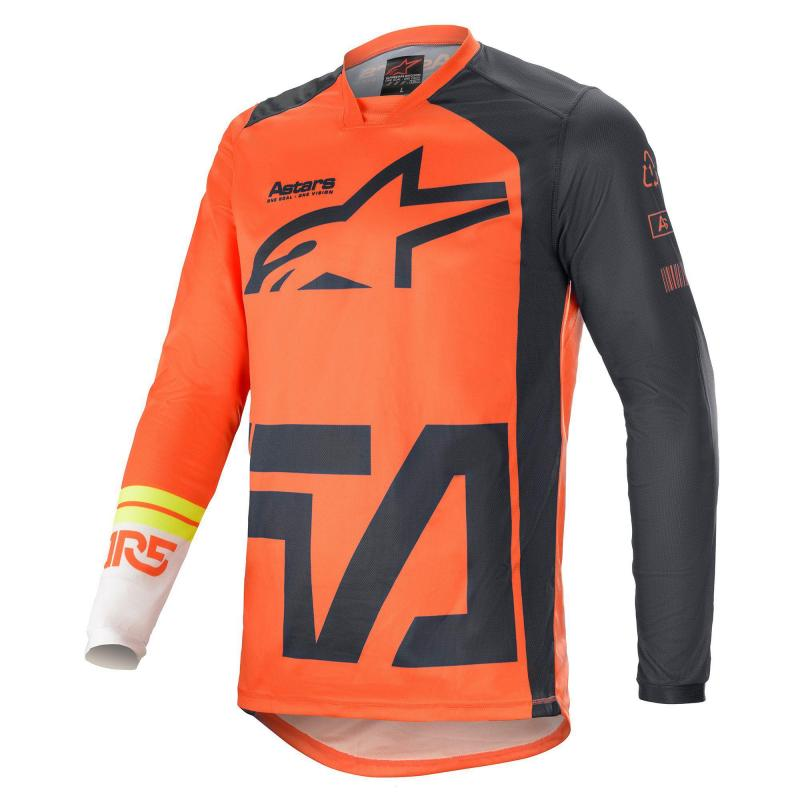 Alpinestars Racer Compass Crosströja Orange/Grå/Vit
