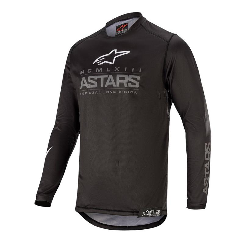 Alpinestars Racer Graphite Crosströja Svart/Mörkgrå