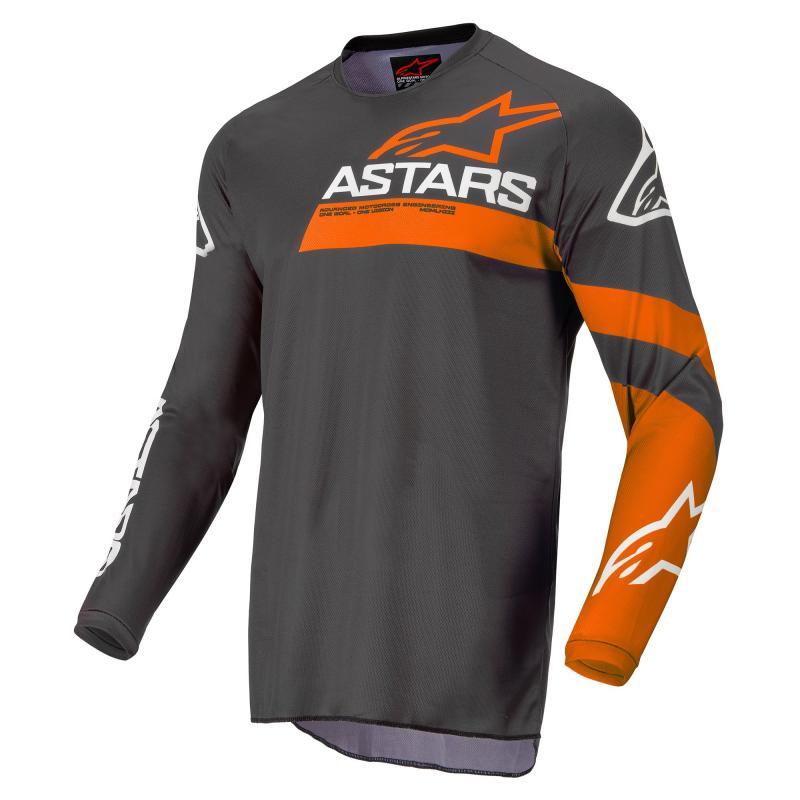 Alpinestars Fluid Chaser Crosströja Antracite/Fluo-Coral