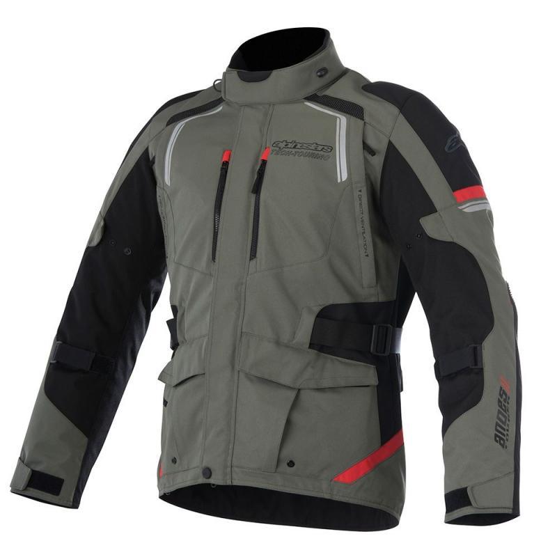 Alpinestars Andes V2 Drystar® Jacka Militärgrön/Svart/Röd