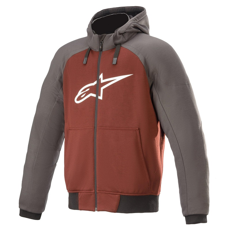 Alpinestars Chrome Sport Hoodie Orange/Grå