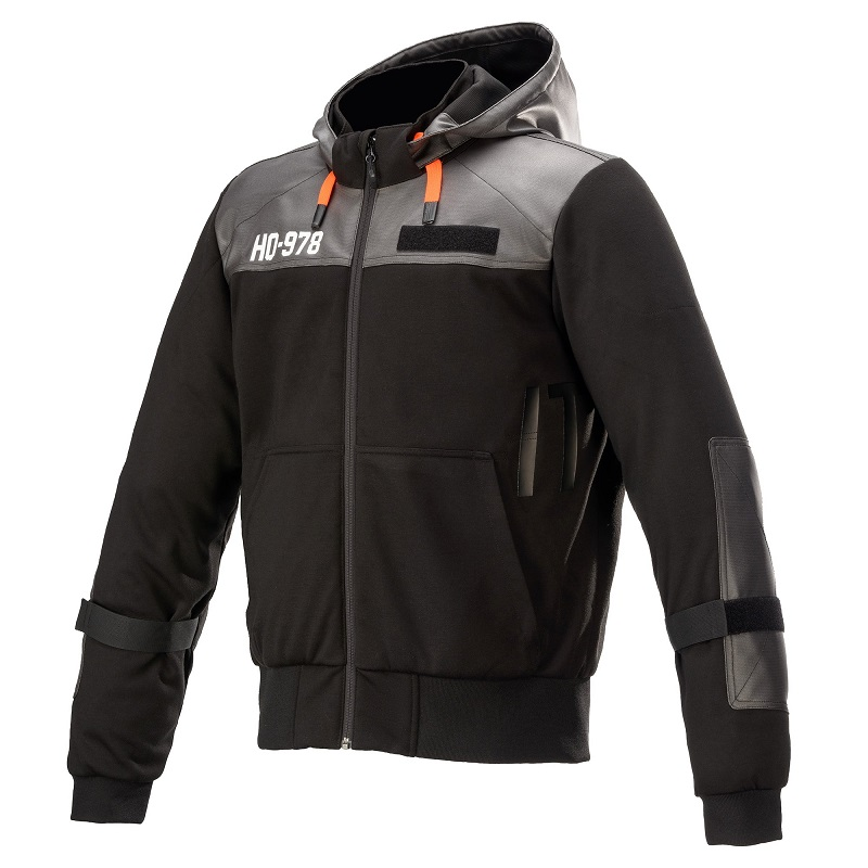 Alpinestars AS-DSL Shotaro Hoodie Svart