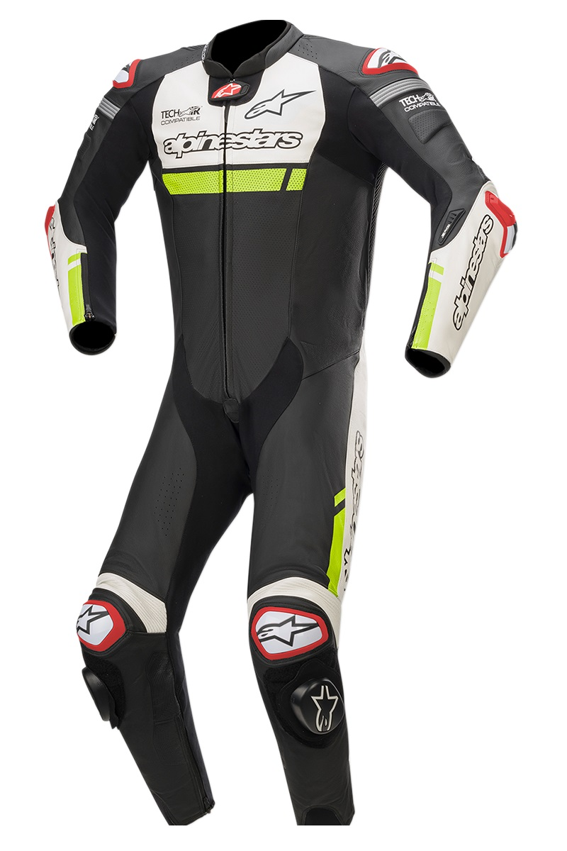 Alpinestars Missile Ignition Helställ Svart/Vit/Gul (Tech-Air® Kompatibel)