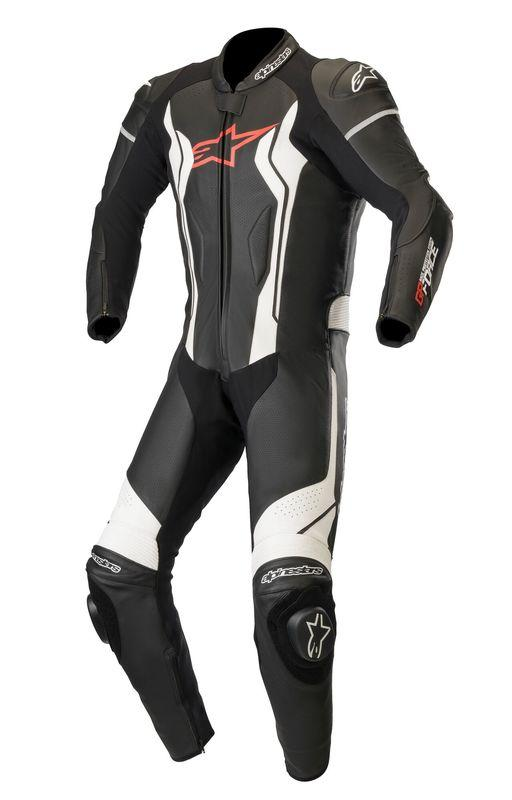 Alpinestars GP Force Helställ Svart/Vit