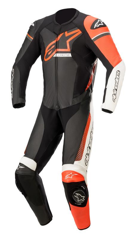 Alpinestars Gp Force Phantom Helställ Svart/Vit/Fluo-Röd (Tech-Air® Kompatibel)