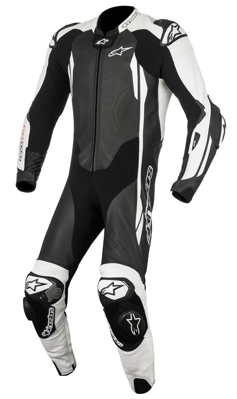 Alpinestars GP Tech V2 Helställ Svart/Vit (Tech-Air® Kompatibel)