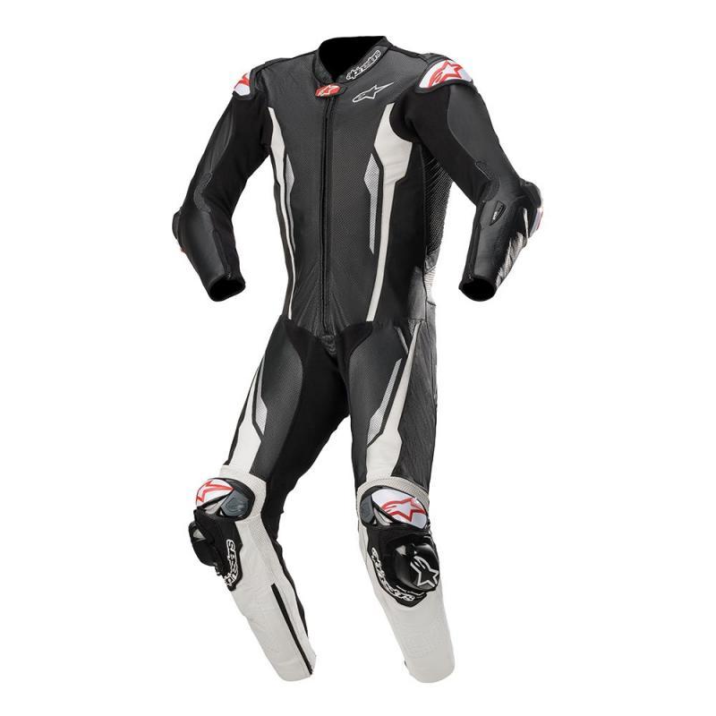 Alpinestars Racing Absolute Helställ Svart/Vit (Tech-Air® Kompatibel)