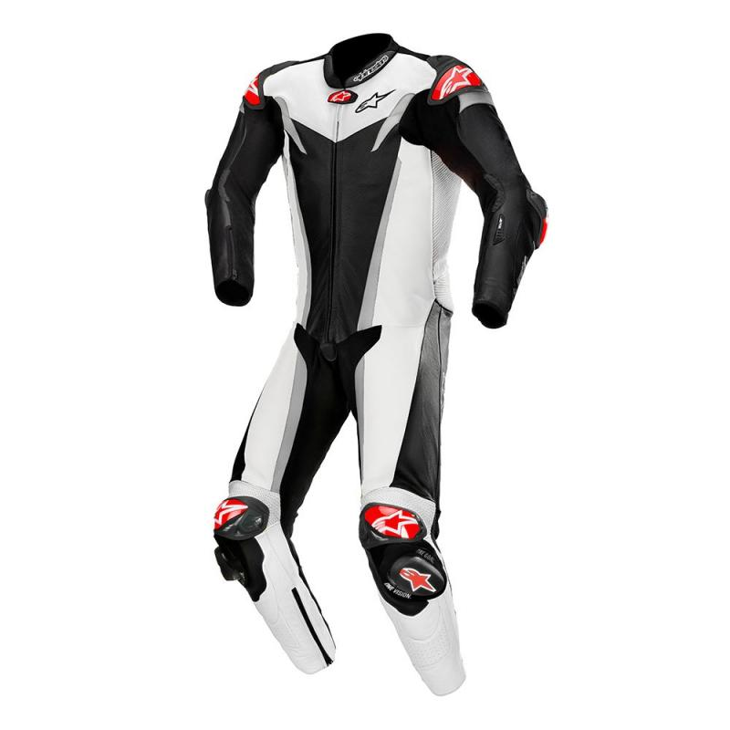 Alpinestars GP Tech V3 Helställ Svart/Vit/Silver (Tech-Air® Kompatibel)